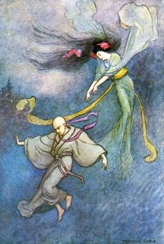Grace James, Green Willow and other Japanese Fairy Tales, illustrated by Warwick Goble (London, Macmillan and Co., 1979)
