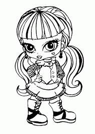 Imagenes De Monster High Para Colorear Buscar Con Google