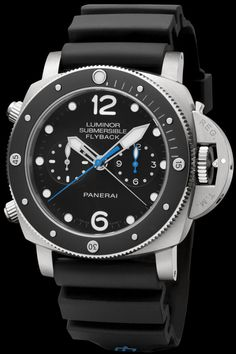 The Watch Quote: The Panerai Luminor Submersible 1950 3 Days Chrono Flyback Automatic Titanio – 47MM watch - For the first time with the case of bronze