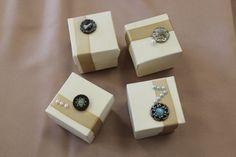 DIY vintage wedding favour boxes!