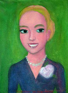 Evita Peron. Cuadro en venta de la Serie Historia Argentina del artista plastico…