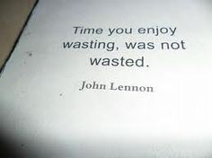 Here's to lazy Sundays. #JohnLennon #quote