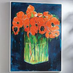 """Still Life with Flowers Artwork 30""""W x 40""""H  $400 kitchen table?"""