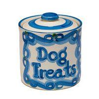 Hadley Pottery Dog Treat Jar $49.50