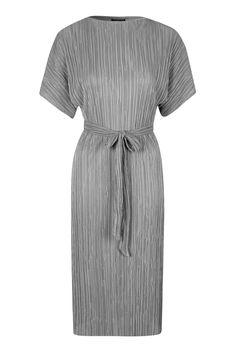 Pleated Midi Dress - Dresses - Clothing - Topshop