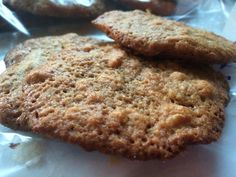 Chewy Peanut Butter Cookies (gluten free) Gluten Free Peanut Butter Cookies, Banana Bread, Desserts, Food, Tailgate Desserts, Dessert, Postres, Deserts, Meals