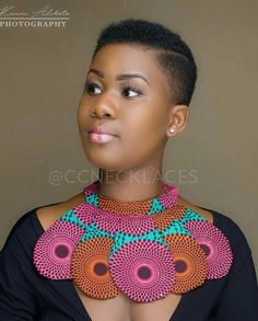 Look at this Trendy womens african fashion African Attire, African Wear, African Women, African Dress, African Style, Natural Hair Cuts, Natural Hair Styles, Short Hair Styles, African Inspired Fashion