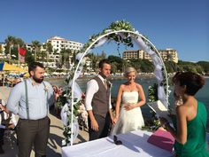 Our pier wedding venue by www.cyprusdreamweddings.com