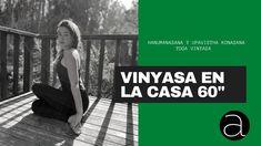 Vinyasa yoga 60 minutos con Camila Manns Vinyasa Yoga, Basic Yoga, Online Yoga, Youtube, Movie Posters, Movies, Film Poster, Films, Movie