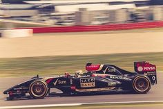 """Lotus with 18"""" rims for the new 18"""" Pirelli tyres."""