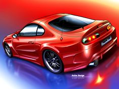 Red Toyota Supra ACT wallpaper - #Toyota #Act, #Red, #Supra, #Toyota http://wallautos.com/red-toyota-supra-act.html