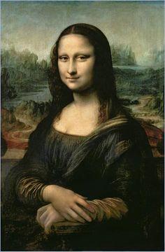 'Mona Lisa'; by Leonardo da Vinci