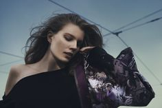 Kristiina Sulmio`s silk scarf design for Finnish accessories brand Marja Kurki. Textile Design, Textiles, Scarf Design, Silk, Finland, Model, Collections, Autumn, Accessories