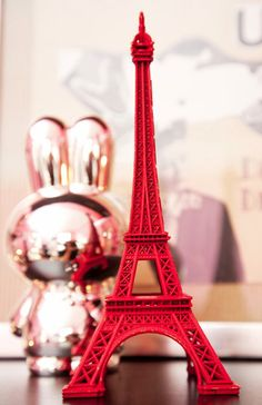 Pink miffy and eiffeltower