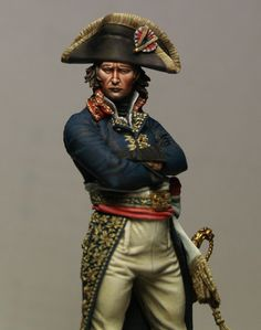 Miniatures, Paint and History: General Bonaparte 1796-1797 75mm