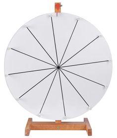 Make a Prize Wheel | Carnival Ideas | Pinterest | Prize wheel ...