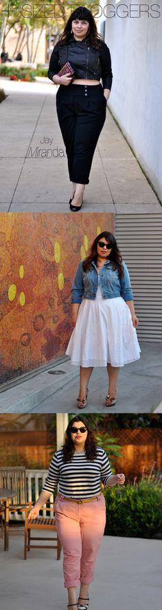 Jay-miranda best plus sized fashion bloggers.... plus size fashion does not have to be boring !!