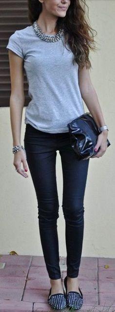 Leggings kombinieren: Eleganter Style