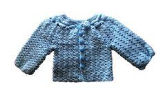 Blue Cardigan Heart Buttons – Ldrubi Handmade
