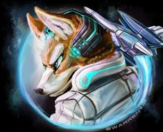 ArtStation - StarFox: Reporting for Duty!, Kirstyn Warren