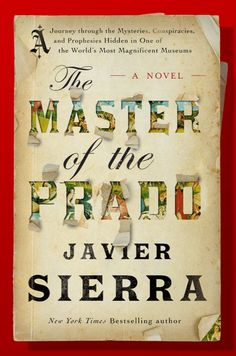Portada de El maestro del Prado en EE.UU. Atria Books lanza este título en inglés, con ilustraciones a color, en noviembre de 2015.