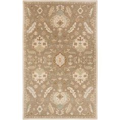 Caesar CAE-1166 Brown Damask Rug  #rugs #decor #classy #floorcoverings #fab #dreamhome #interiorstyling #trendy #decorating #instahome