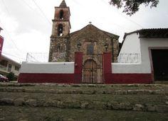 Templo del Calvario en Pátzcuaro, Michoacán, ubicado en el camino rumbo al cerro del Estribo Grande