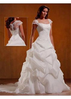 ELEGANT STRAPLESS PICK-UP SKIRT WEDDING DRESS LACE BRIDESMAID PARTY BALL COCKTAIL EVENING GOWN IVORY WHITE FORMAL
