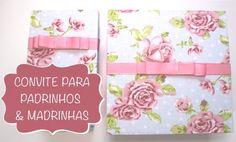 Faça o download da papelaria e aprenda a fazer uma caixa linda para presentear seus padrinhos e madrinhas de casamento!