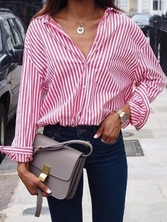 Different styles of women's shirts