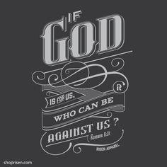 God is for us | Christian Tee shirt | Christian T-Shirt | Jesus Apparel
