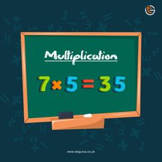Multiplication is an important tool of mathematics. It is used to solve algebra, calculus, equations and more. If you make your child learn mathematics' multiplication tricks at an early age it will be easy for him in future to solve complex mathematical problems. Online Math Classes, Mathematics Online, Calculus, Algebra, Multiplication Tricks, Classroom Environment, Primary School, Fun Learning, Child