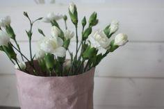 Uashmaman vaaleanpunainen pussi Vase, Plants, Home Decor, Homemade Home Decor, Plant, Interior Design, Jars, Home Interiors, Vases