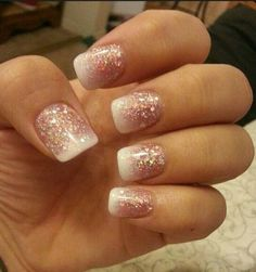 20 Sweet Glitter Nail Art Designs For Valentine Day