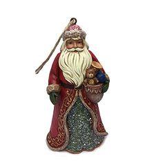 Enesco Jim Shore Victorian Santa Ornament