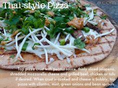 Thai Style Pizza
