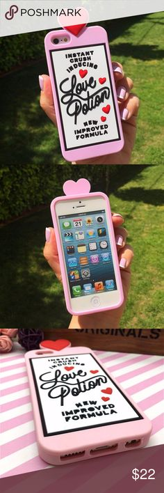iPhone Love Potion Case Brand new silicone case Accessories Phone Cases