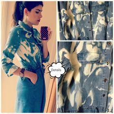 House of Pinheiro: DIY Bleach Tie Dye Dress