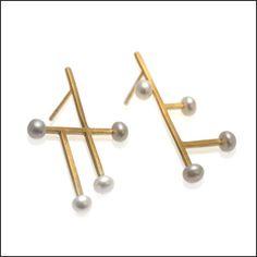 Dashes vs Dots / Earrings
