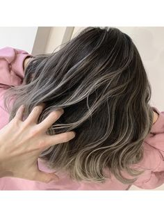Balayage Long Hair, Gray Hair Highlights, Haircuts Straight Hair, Brown Hair Shades, Cabello Hair, Shot Hair Styles, Hair Dye Colors, Aesthetic Hair, Hair Images