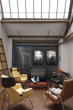 Luis Carlos Aguayo studio photo by Andrea Agrati