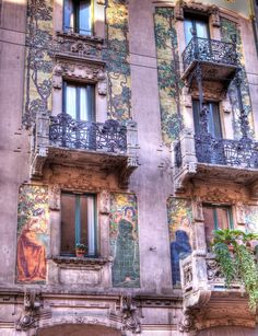 Casa Galimberti - Milanese Art Nouveau - 1903/1905 - Milano