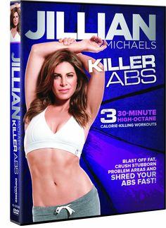 Jillian Michaels Killer Abs -#mondaymorningworkout Forgot about this DVD - good ab Workout!