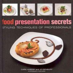 A practical guide to adding that professional flourish to any dish. Food Presentation Secrets provides professional cooking school instruction, tips and recipes for more than 100 sweet and savory garn