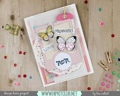 What a gorgeous card created by designer @beavalint  Created with #april2016 kits :: @cratepaper @maggiehdesign #bloom @heidiswapp frame @ellesstudio #littlemoments #hipkits #hipkitclub #scrapbookcard #aprilkits #april2016 #papercrafting