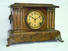 solar mantel clock manual daily instruction manual guides u2022 rh testingwordpress co Pendulum Clock Art Deco Mantel Clocks