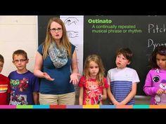 YouTube... Teaching ostinatos to younger grades