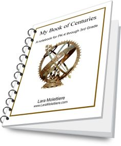 My Book of Centuries: A Notebook for PreK-3rd Grade. A Charlotte Mason style Book of Centuries geared for young learners with alternating lined pages and shorter historical sections. Perfect for Charlotte Mason and Classical #homeschool and for younger children wanting to learn alongside older siblings. $3.99