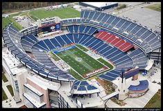 Foxborough - Gillette Stadium. Pre-season game maybe?