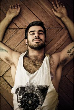 Mainly a collection of hot men from the internet. I love my men to be hairy, but hot men come in all kinds of packages. Hairy Men, Bearded Men, Beard Love, Beard Tattoo, Raining Men, Hairy Chest, Hair And Beard Styles, Attractive Men, Perfect Man